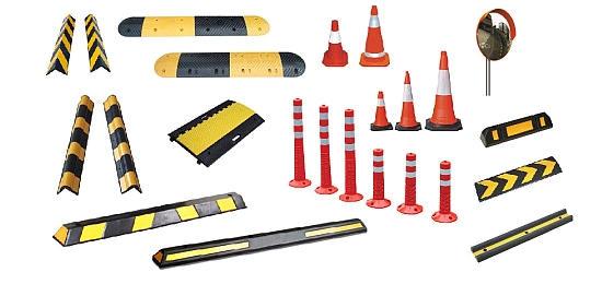 Προϊόντα για την ρύθμιση και την ασφάλεια της κυκλοφορίας. Προϊόντα για τον έλεγχο και την διευκόλυνση της στάθμευσης.