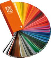 Χρωματολόγιο RAL CLASSIC