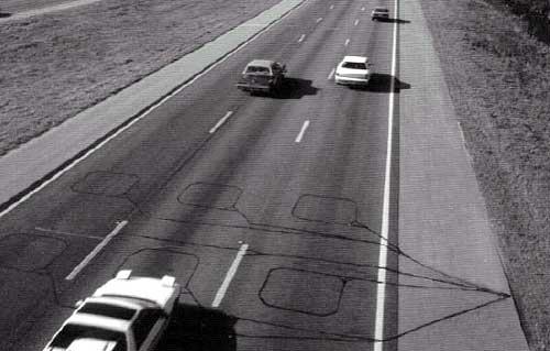 Επαγωγικοί βρόχοι σε αυτοκινητόδρομο