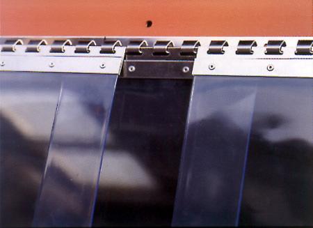Λωριδοκουρτίνα PVC με σύστημα Hook-On