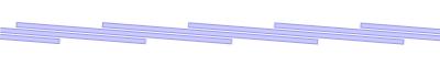 Λωρίδες 200/2 mm - επικάλυψη 116 mm