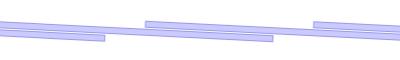 Λωρίδες 300/3 mm - επικάλυψη 132 mm