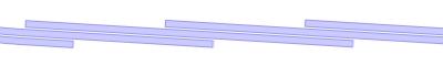 Λωρίδες 300/3 mm - επικάλυψη 175 mm