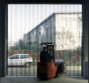 Λωριδοκουρτίνες από διαφανές PVC