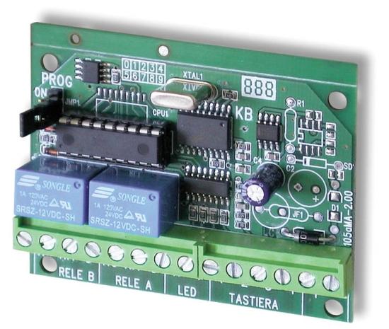 HiLTRON KB24 - Πίνακας ελέγχου πρόσβασης