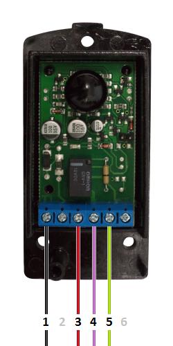 NOLOGO IR5001P - Δέκτης - Τροφοδοσία 24 VAC - NC επαφή