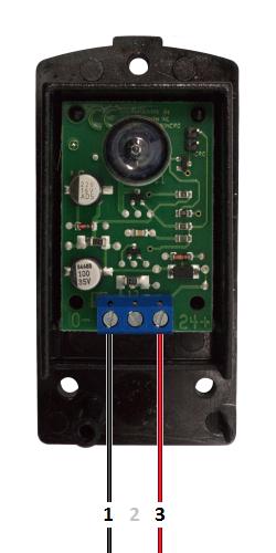 NOLOGO IR5001P - Πομπός - Τροφοδοσία 24 VDC